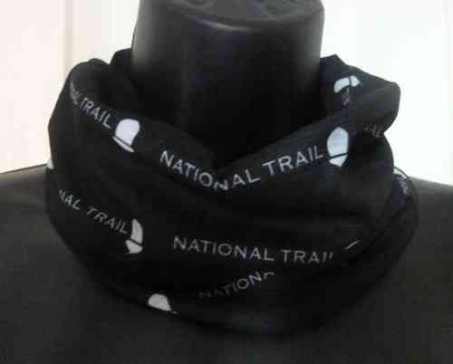 National Trail Bandana (Black & White)