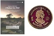 Hadrian's Wall Path Achievers' Badge & Certificate
