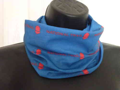 National Trail Bandana (Blue & Red)